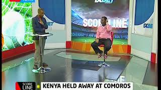 Scoreline: Kenya's Harambee Stars held at Comoros