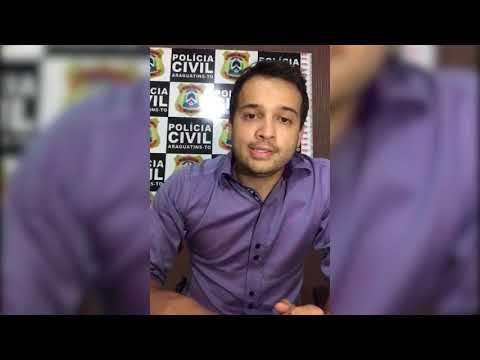 VBTv   Delegado Antonio Bandeira fala sobre violência contra bêbado em Araguatins