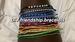 5 DIY Friendship Bracelets