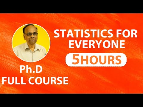 Statistics for Machine Learning  | Statistics Class 10 | Statistics for Data Science | Full Course