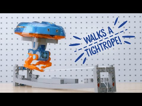 Youtube Video for The Amazing Tightrope-Walking Gyrobot