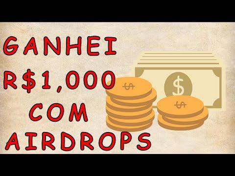 Ganhei R$1,000 Reais em duas semanas com Airdrops GRÁTIS ! Atualização de pagamentos.