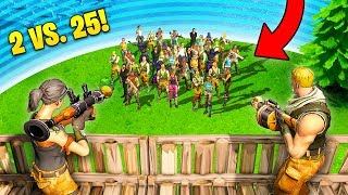 INSANE 2 vs. 25 VICTORY! - Fortnite Fails & Epic Wins #16 (Fortnite Funny Moments Compilation)