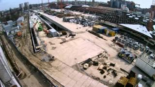 preview picture of video 'Łódź Fabryczna 07 iv 2015 - t1'