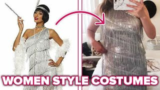 Women Style Halloween Costumes For A Day