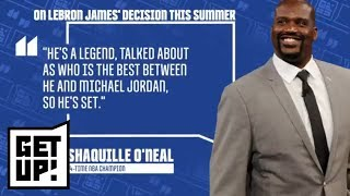 Shaquille O'Neal: LeBron James shouldn't chase NBA championships anymore | Get Up! | ESPN