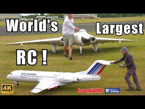 Best TOP 10 BIGGEST / LARGEST RC Airplanes In The WORLD (UltraHD/4K Resolution)