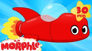 My Red Rocket Ship  My Magic Pet Morphle Compilation Of Videos For Kids