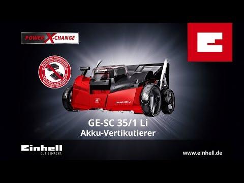 Einhell GE-SC 35/1 Li Vertikutierer