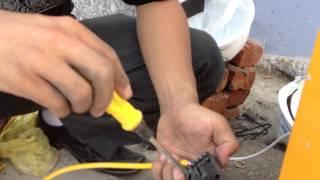 Video Lắp đặt bộ dò vòng từ cho barrier tự động