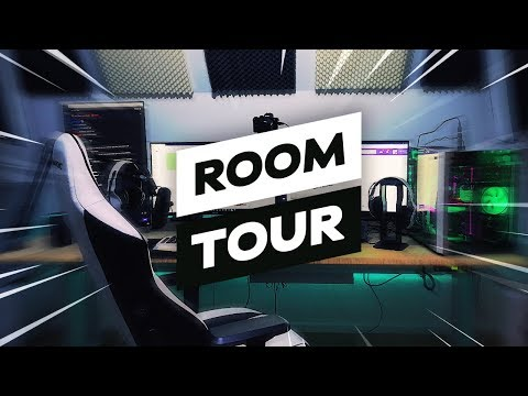 MEIN GAMING ZIMMER & PC - Room/Setup TOUR!