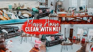 EXTREME CLEAN WITH ME | ACTUAL DIRTY HOUSE CLEANING MOTIVATION | VLOGMAS DAY 2