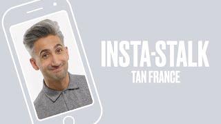 Queer Eye's Tan France Insta-Stalks The Fab Five   ELLE