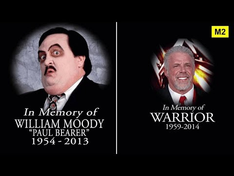 Download All 44 Wrestlers Who Died in The 2010s - Wrestlers Deaths (2010-2017)
