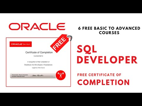 Free Oracle Database Certification | 6 Free Oracle Courses ...