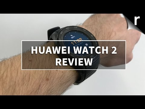 Huawei Watch 2 Review: Android Wear 2.0, smart sensors and more