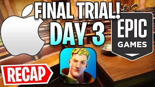 Fortnite vs. Apple Trial Day 3 - Apple DESTROYED Epic...