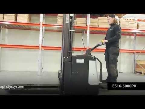 El-stabler ES15-5000- løftehøjde 4990 mm