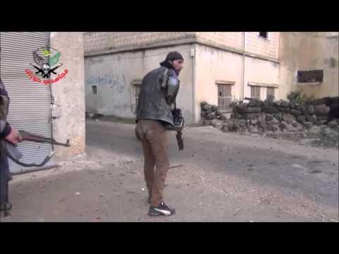 Сирия новости 2016!Сирия Террорист ловит пулю