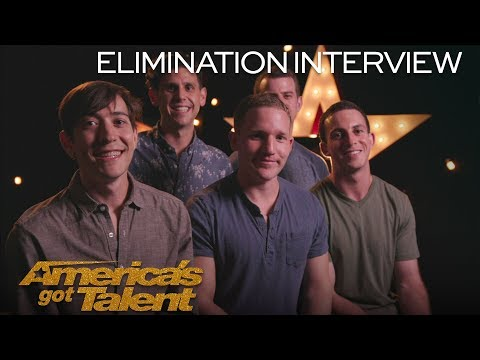 Elimination Interview: Human Fountains' Streams Came True On AGT - America's Got Talent 2018 (видео)