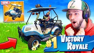 *NEW* SEASON 5 VEHICLE GAMEPLAY in Fortnite: Battle Royale!