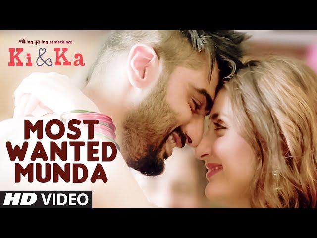 Most Wanted Munda Video song   KI & KA Movie video songs