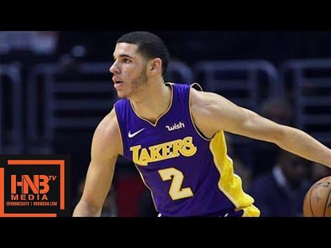 GS Warriors vs LA Lakers 1st Half Highlights / Week 7 / 2017 NBA Season