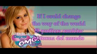 Ashley Tisdale - Too many walls (Traducida al español) + Lyrics