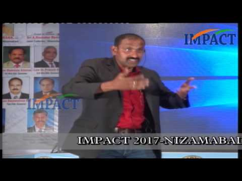 Leadership |Chandrashekhar|TELUGU IMPACT Nizamabad 2017