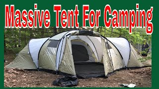 Large family camping tents: Camping gear