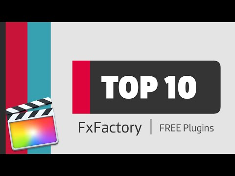 Top 10 FREE Plugins for Final Cut Pro X