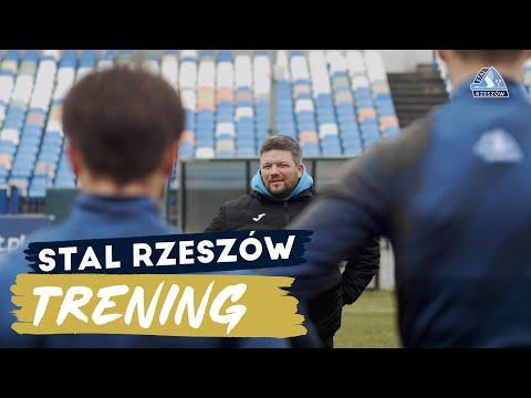 Marcin Wołowiec poprowadził pierwszy trening Stali [WIDEO]