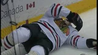 James Wisniewski KOs Seabrook and Brent Seabrook nails Corey Perry