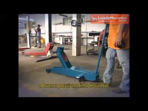 Macaco Hidráulico Tipo Jacaré 2T com Maleta - Video