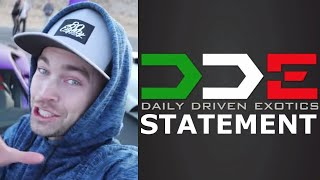 DDE RESPONDS to BACKLASH?! Stradman CANCELS New LAMBO?!