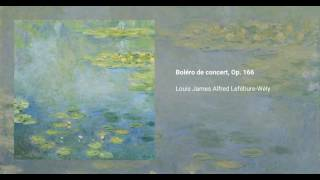 Boléro de concert, Op. 166