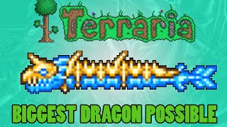 Terraria: How to get the Longest Dragon Possible and Max Summons