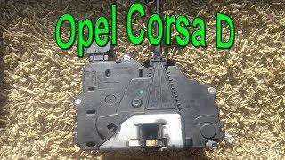 Замена замка водительской двери Opel Corsa D. #АлексейЗахаров. #Авторемонт. Авто - ремонт