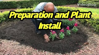 Flower Bed Preparation And Install