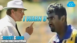 MURALI's ILLEGAL BALL DRAMA - CREATED BY AUSSIE UMPIRE - Even After ICC Cleared Him !!