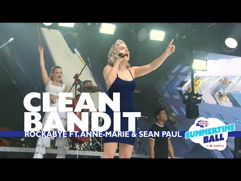 Clean Bandit - 'Rockabye' feat. Anne-Marie and Sean Paul (Live At Capital's Summertime Ball)