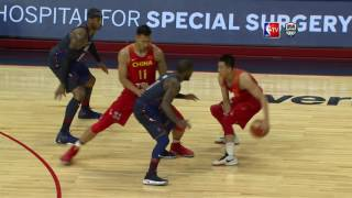 USA vs China Exhibition Game Full Highlights