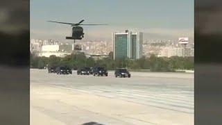 Охрана Эрдогана и Трампа. Recep Erdogan VS Donald Trump