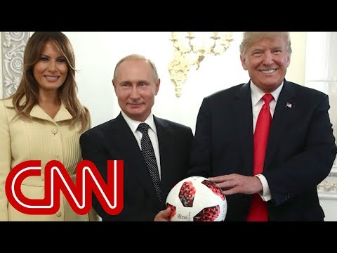 Internet warns Trump about Putin's gift
