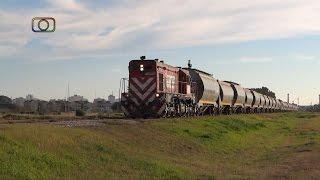 preview picture of video 'Tren de FEPSA pasando por Spurr'