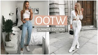 WHAT I WORE THIS WEEK | SUMMER OOTW | CASUAL EVERYDAY OUTFITS