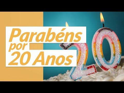 Mensagens De Aniversário De 20 Anos Mensagens De Aniversário
