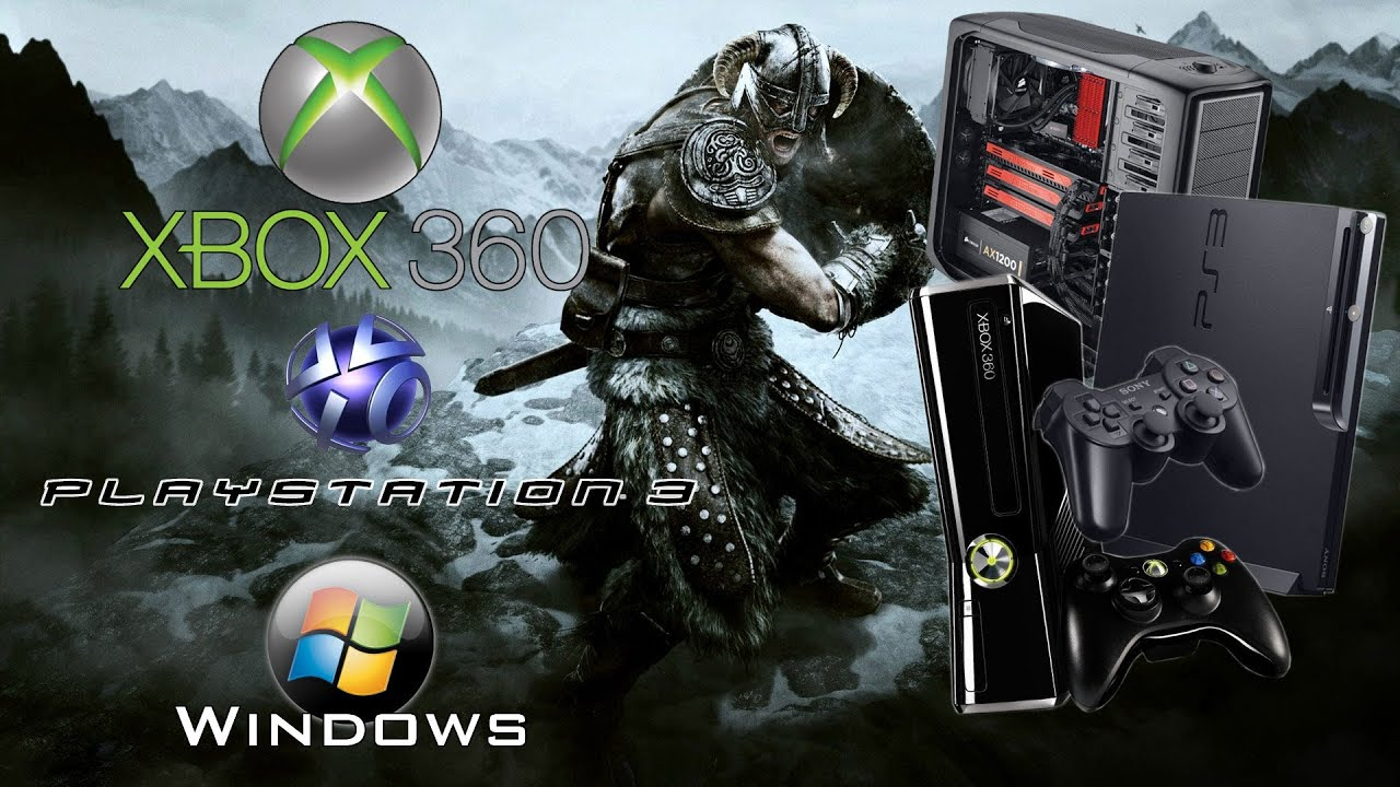 Skyrim On PlayStation 3, Xbox 360 And PC