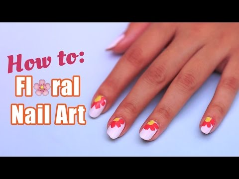 How To Make Pretty Floral Nail Art | Nail Designs – POPxo