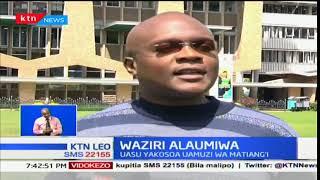 Viongozi wa UASU wameitaja hatua yake Matiang'i kuwa mbinu ya serikali kukwepa majukumu ya mkataba